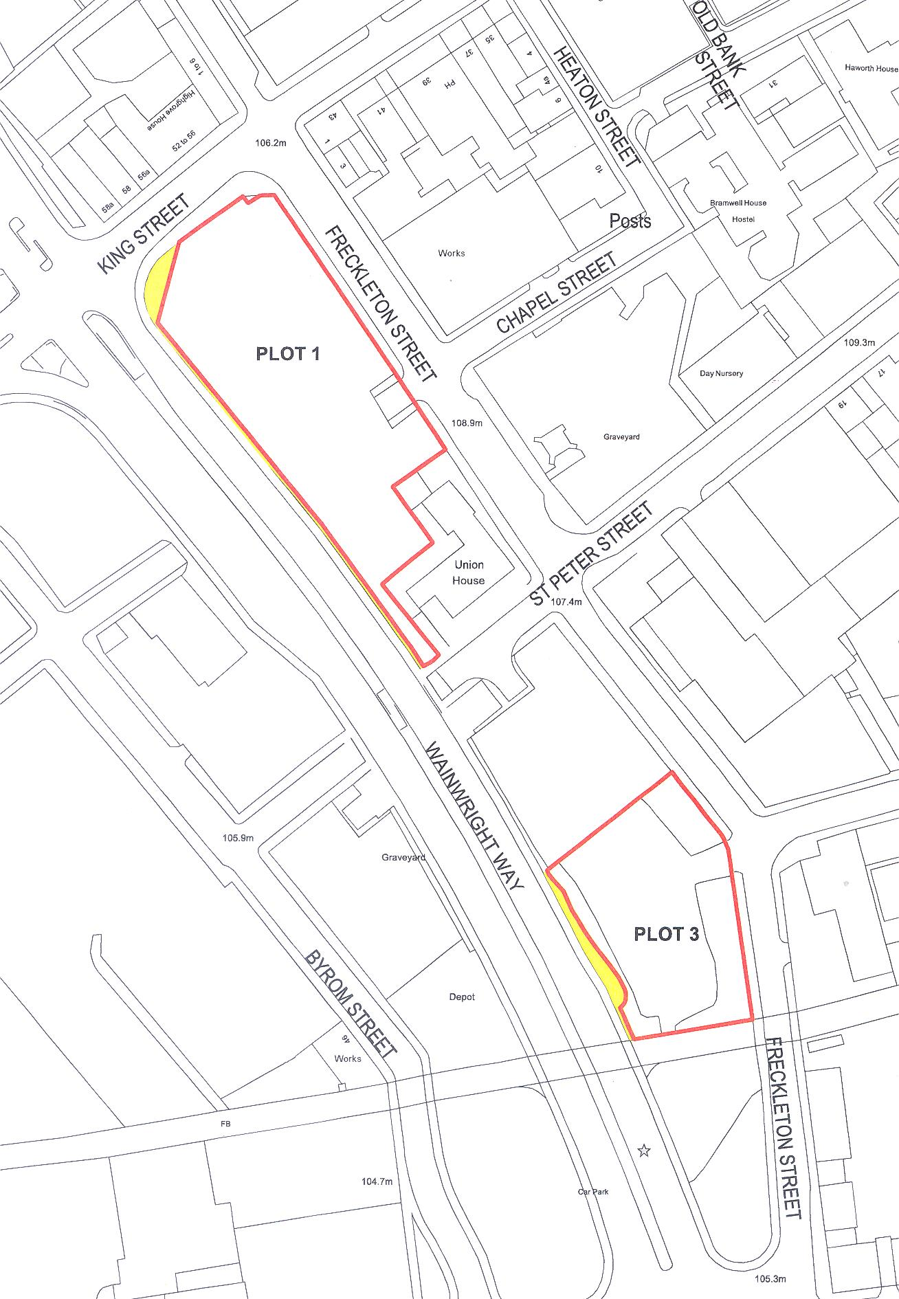 Prime Development Plots Come to the Market in Blackburn Town Centre